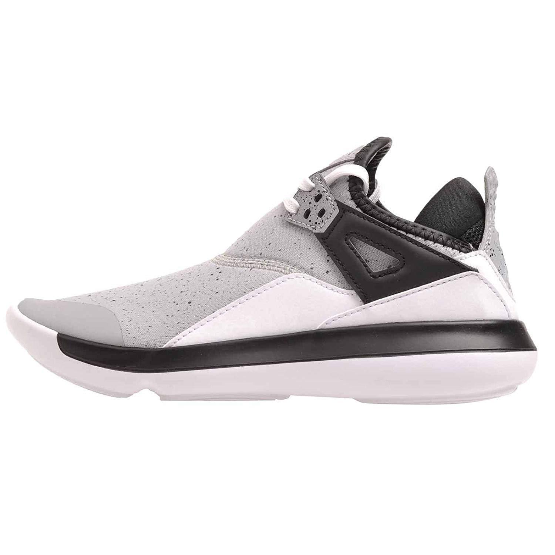 meet ab447 915f7 Amazon.com   Jordan Nike Kids Fly 89 BG, Wolf Grey Wolf Grey-Black    Basketball