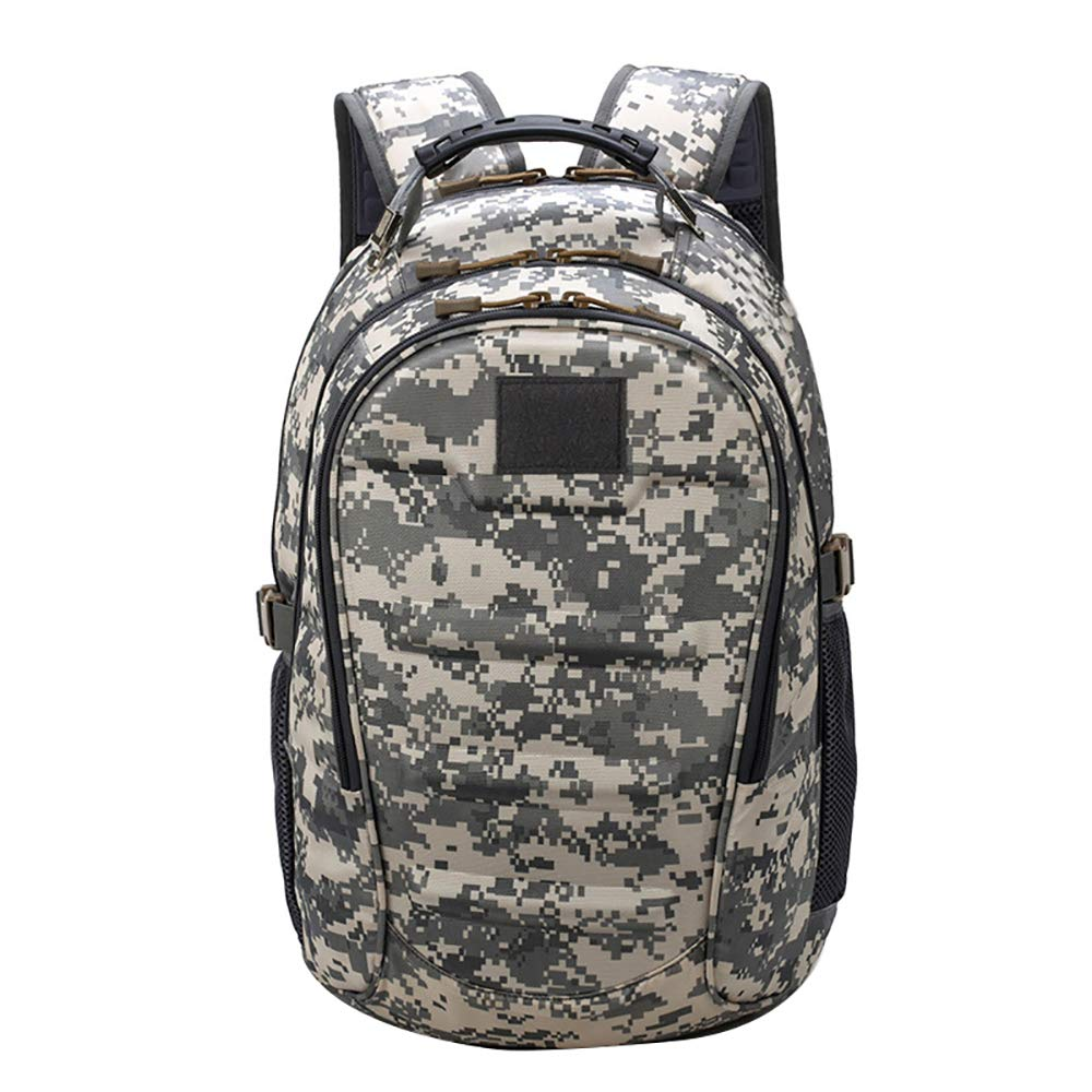 Zhuhaimei,Zaino sportivo da uomo Zaino Camouflage Army Fan Tactical Backpack Zaino sportivo da uomo Zaino Camouflage Army Fan Tactical Backpack(color:ACU digitale)