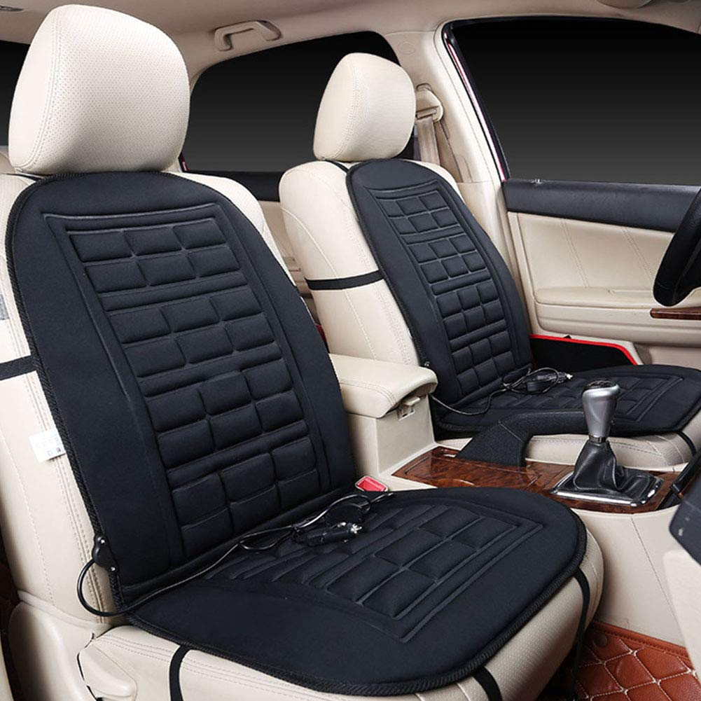 Anti-slip Electric Heating Pad Cover for Winter Warmer with control the temperature feiledi Trade USB Car Heated Seat Cushion