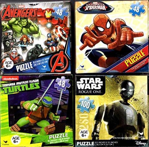 Puzzles Cardinal Spiderman Avengers Ironman