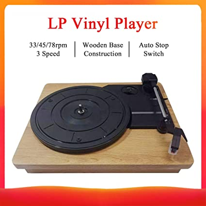 Bulufree - Tocadiscos de estilo vintage para discos de vinilo 33 ...