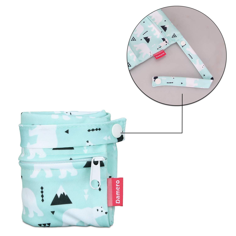 Elektronik WSDD1 waschbar Yeehao Wasserdichter Nass- // Trockensack Wiederverwendbare Stoffwindel//Stoff Menstrua Hygienetasche f/ür unterwegs Toilettenartikel Kinderwagen 10 Farben
