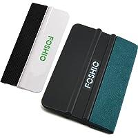 FOSHIO Vinilo Car Wrap Instalar Kit de herramientas 1 Set Incluye Suede Felt Negro 4 Inch