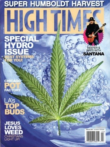 """High Time Magazine #493 February 2017 """"Special Hydro Issue"""" & """"Super Humboldt Harvest"""