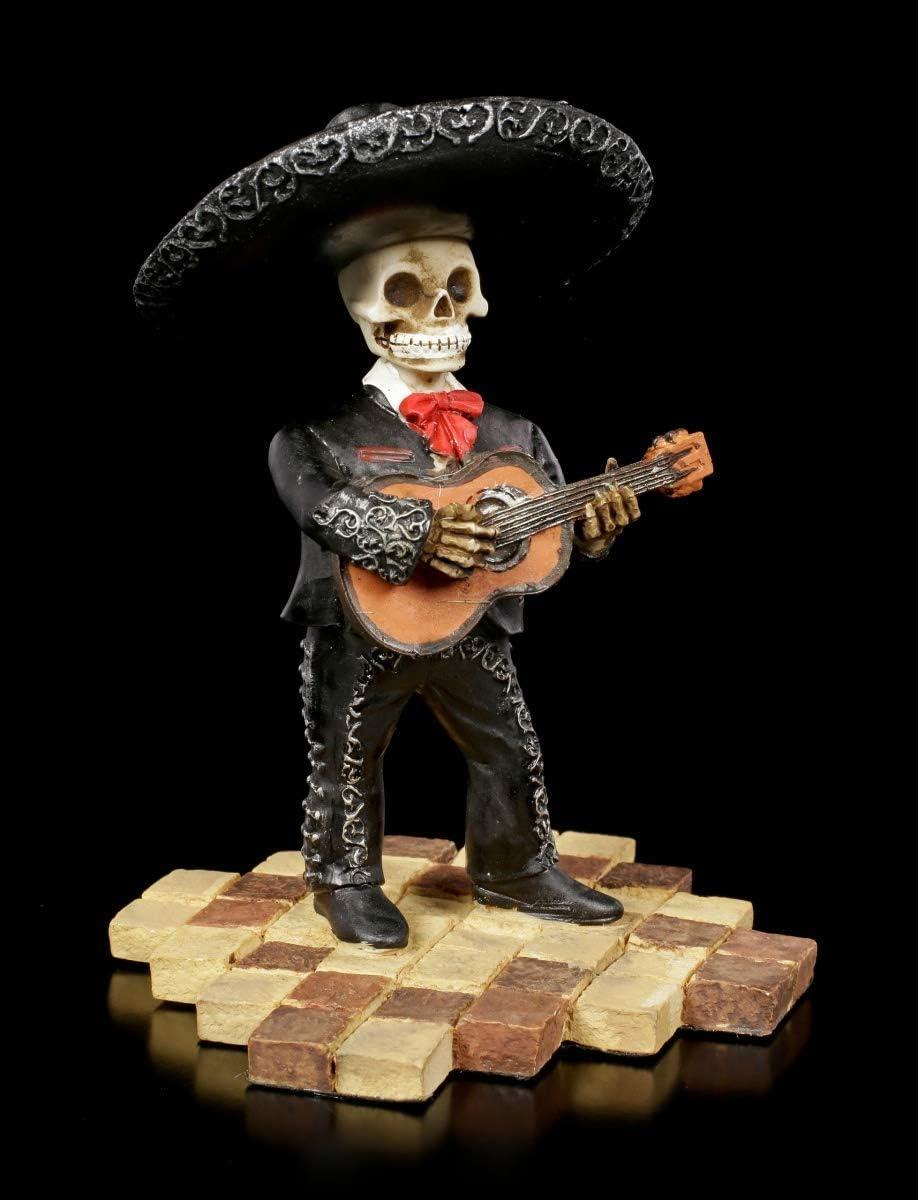 Figuren Shop Gmbh Esqueleto Gothic-Figur - Mariachi Banda Guitarra ...