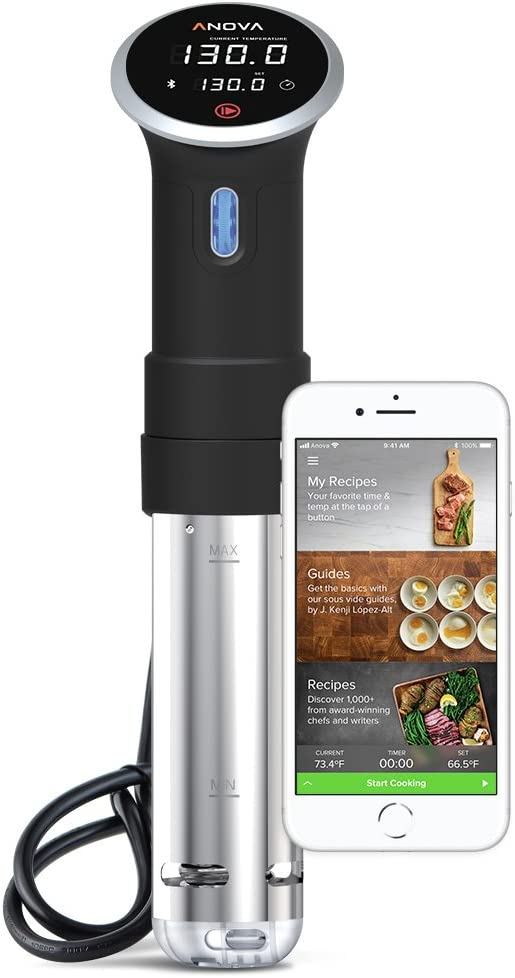 Anova Culinary Sous Vide Precision Cooker | Bluetooth | 800W (Discontinued)
