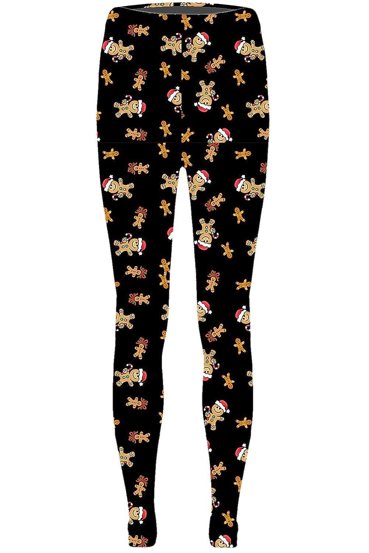 0202a35a417871 Fashion Star Womens Ladies Christmas Santa Snowman Penguin Stretchy  Leggings Xmas Gift Vintage Retro Jeggings Plus Sizes: Amazon.co.uk: Clothing