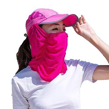 Axiba Aire Libre Bloqueador Solar Sombrero sombrilla Anti-UV Bicicleta Visera Chica Verano montañismo Pesca