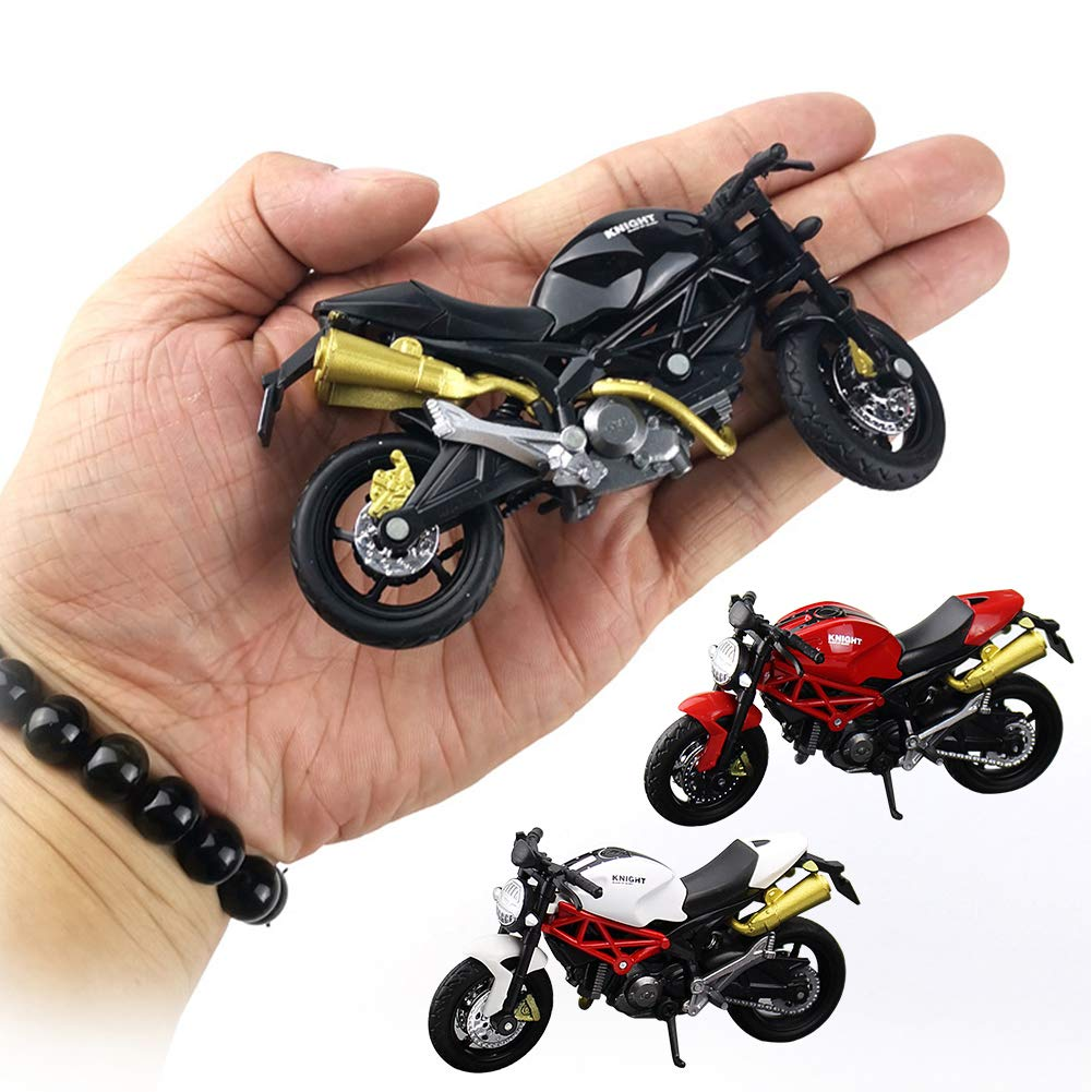 1:18 Scale Motorcycle Die-Cast Collectors Model Sculpture Ornaments Collection Toy for Bicycle Motocycle Lovers Mini Motorcycle Model