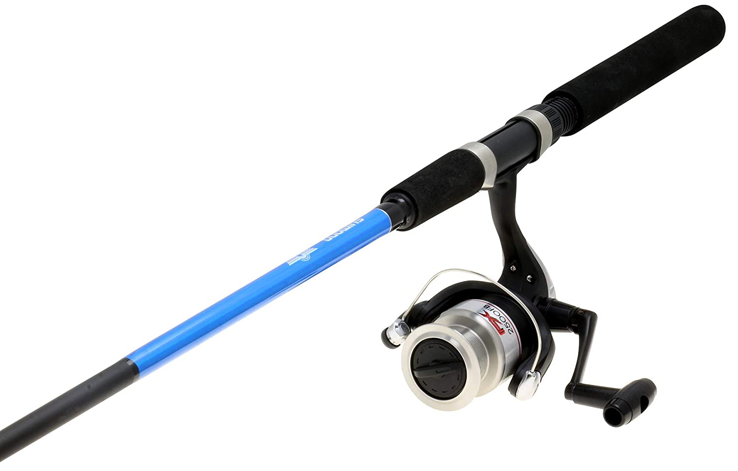 RITE-HITE Bank Fishing Dual-Rod Holder – Holds Two Fishing Rods and Reels at The Optimum Angle. Great for Bank Fishing on Lakes and Streams