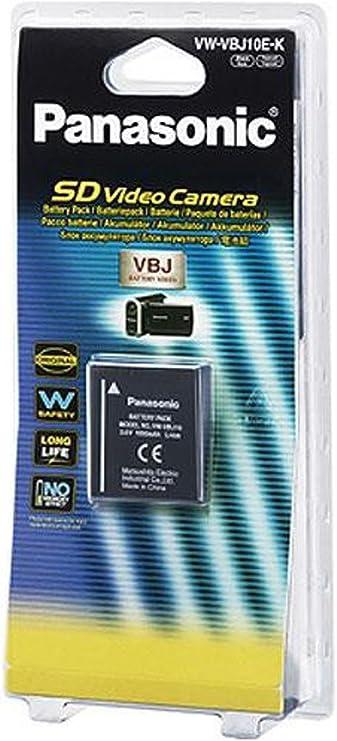 Bater/ía para videoc/ámara Equivalente a Panasonic VW-VBG6 Jupio VPA0001 Lithium Ion, 5400 mAh