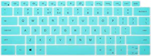 CaseBuy Keyboard Cover Skin for Latest Dell XPS 13 9300 9310 13.4 inch Touchscreen, Dell XPS 13 Accessories, Ultra Thin Silicone Protector, Mint Green