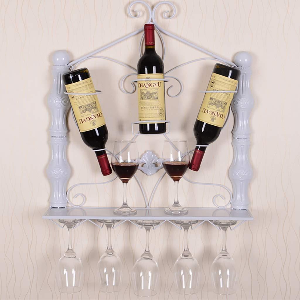 ワイングラスラックワインラック (色 : 白, サイズ さいず : B) B07GW6LMTM B|白 白 B