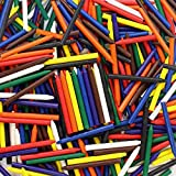 Premium Crayons Case of 270 (9 colors) ** NO PAPER WRAPPER ** SAFETY TESTED COMPLIANT WITH ASTM D-4236! **