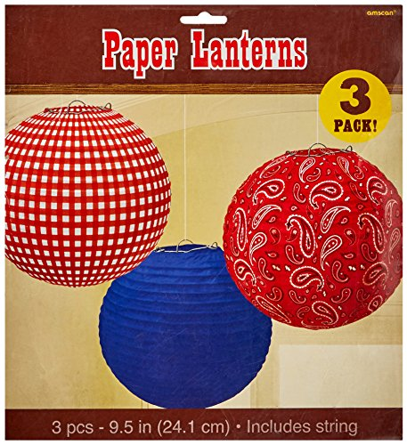 amscan-high-riding-western-party-printed-round-lanterns-3-piece-multicolor-9-1-2