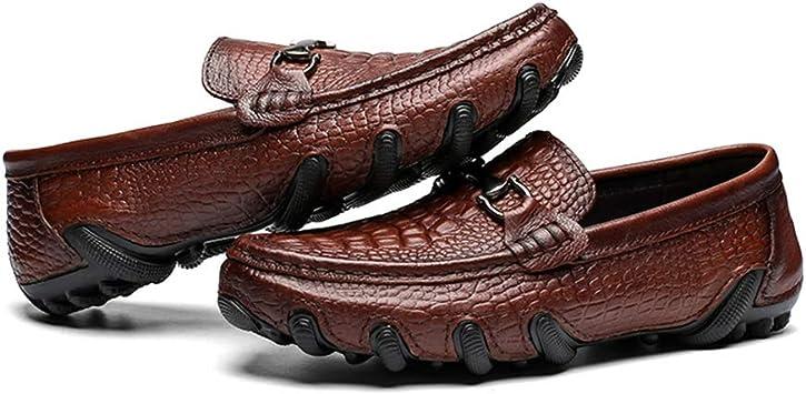 Jingkeke Herren Casual Penny Driving Mokassins Loafers für