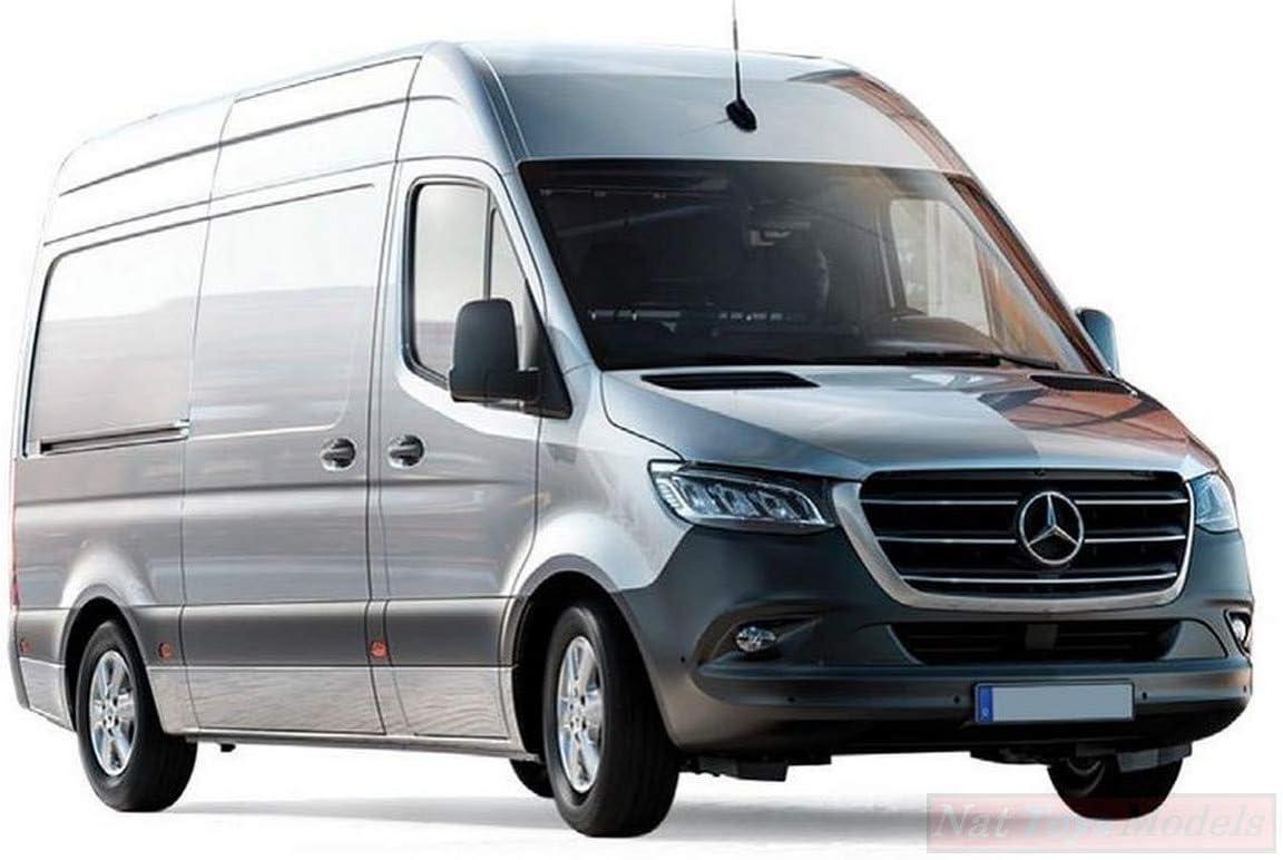 Norev NV351175 Mercedes Sprinter 2018 Silver 1:43 MODELLINO Die Cast Model Compatible con