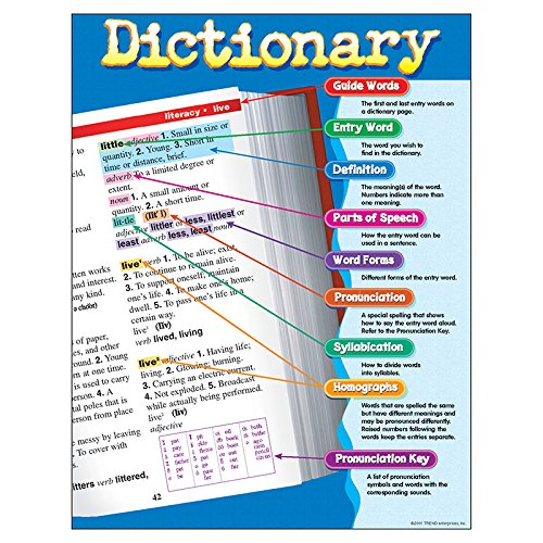 TREND enterprises, Inc. Dictionary Learning Chart, 17