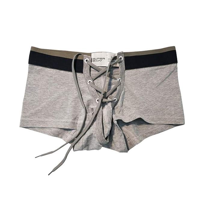 Herren Boxer Slip Shorts Sport Unterwäsche Seidig Weich Unterhose Kurz Hose Neu