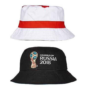 FIFA World Cup 2018 Russiatm Bucket Hat England  Amazon.co.uk ... 23f8704a6b1