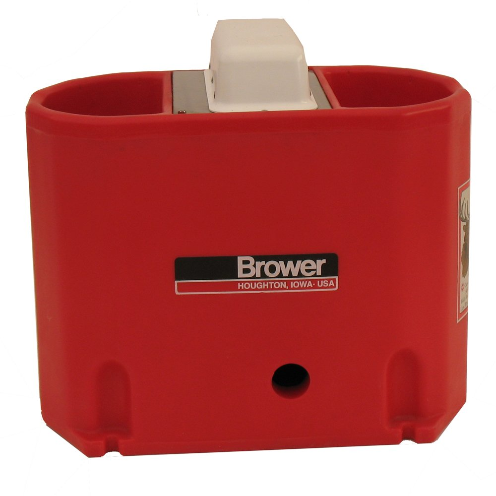 Brower MPO6E 6-Gallon Heated Poly Waterer, Red by Brower
