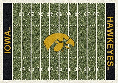 American Floor Mats Iowa Hawkeyes NCAA College Home Field Team Area Rug 5'4