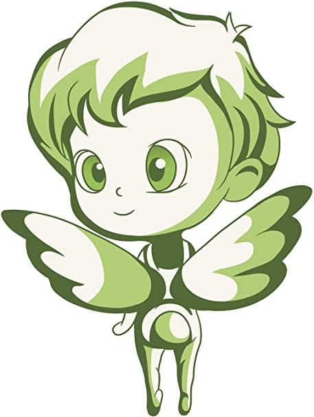 Amazon com: Cute Kawaii Fairy Pixie Child Cartoon Emoji