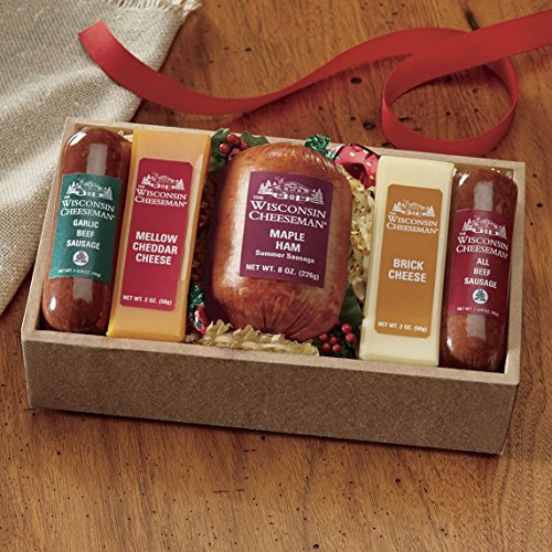 Favorite Five Gift Box from Wisconsin Cheeseman by The Wisconsin Cheeseman