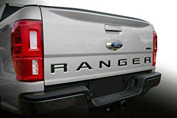 LimitlessParts for 2019 Ranger Chrome Grill Letters Inserts ABS Plastic NOT Thin Decals