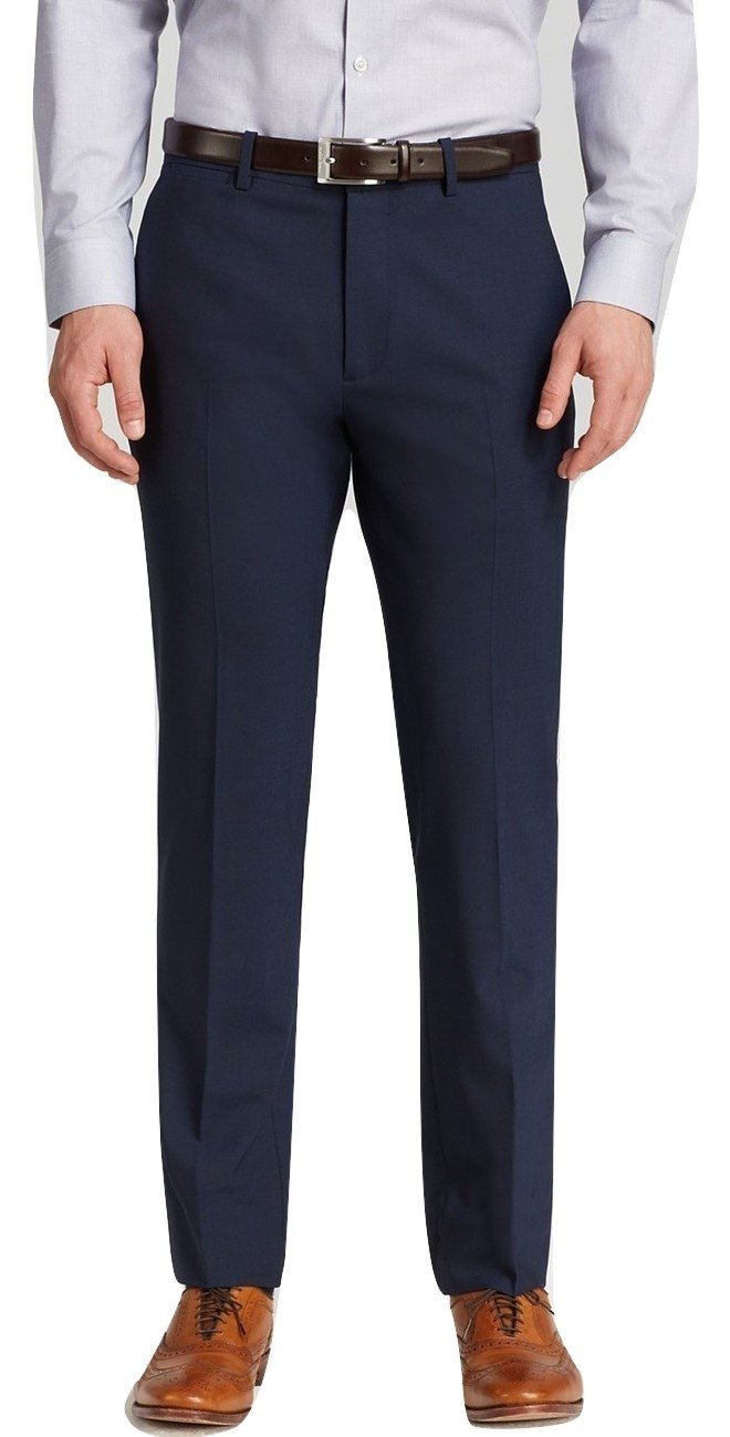 Theory Marlo U Royal Solid Flat Front Wool Blend New Men's Dress Pants (30W)