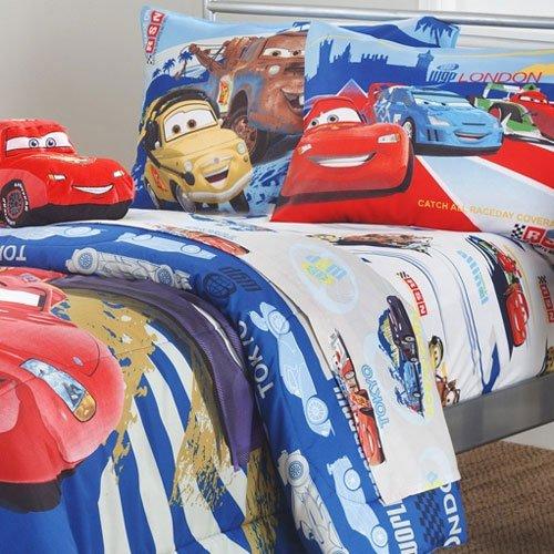 Disney Pixar Cars Full Microfiber Sheet Set Bedroom Store