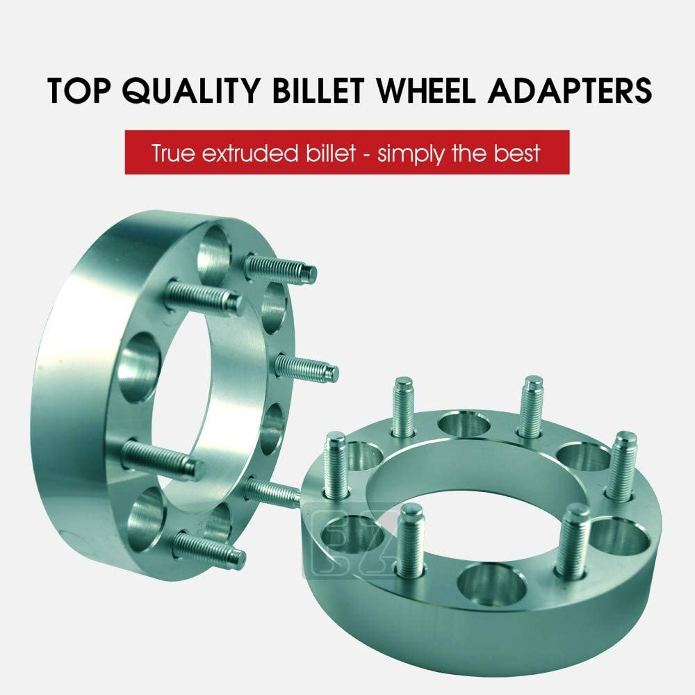 6x139.7 4 Wheel Adapters Spacers 6x5.5 Thickness 1.5-inch 7//16 Studs