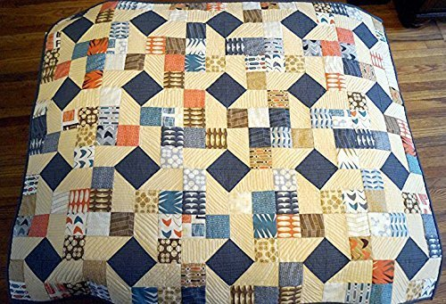 Modern Quilted Wall Hanging or Table Topper by My Bit Of Wonder