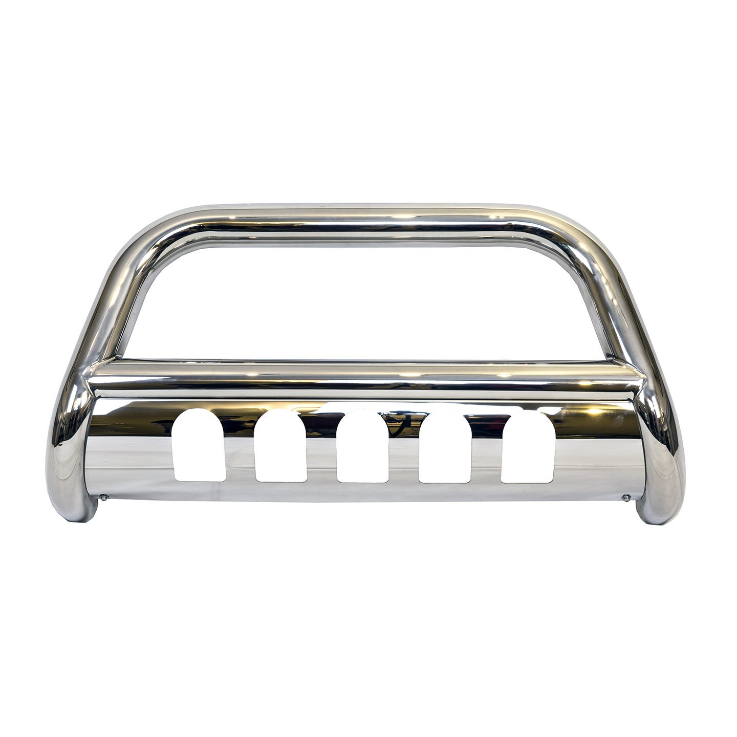 Galaxy Auto 3' Bull Bar for 2009-18 Dodge Ram 1500 (Excluding Rebel) - Stainless Steel Bumper Grille Guard (Chrome)
