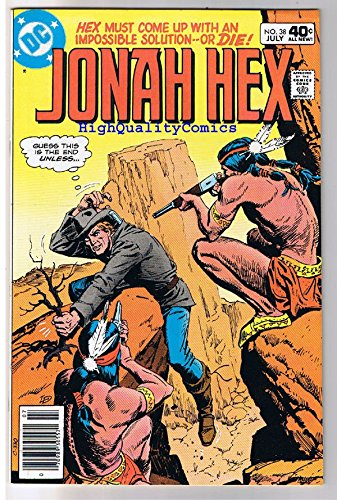 JONAH HEX #38, VF/NM, Iron Dog's Gold, Scar, 1977, more JH in store ()