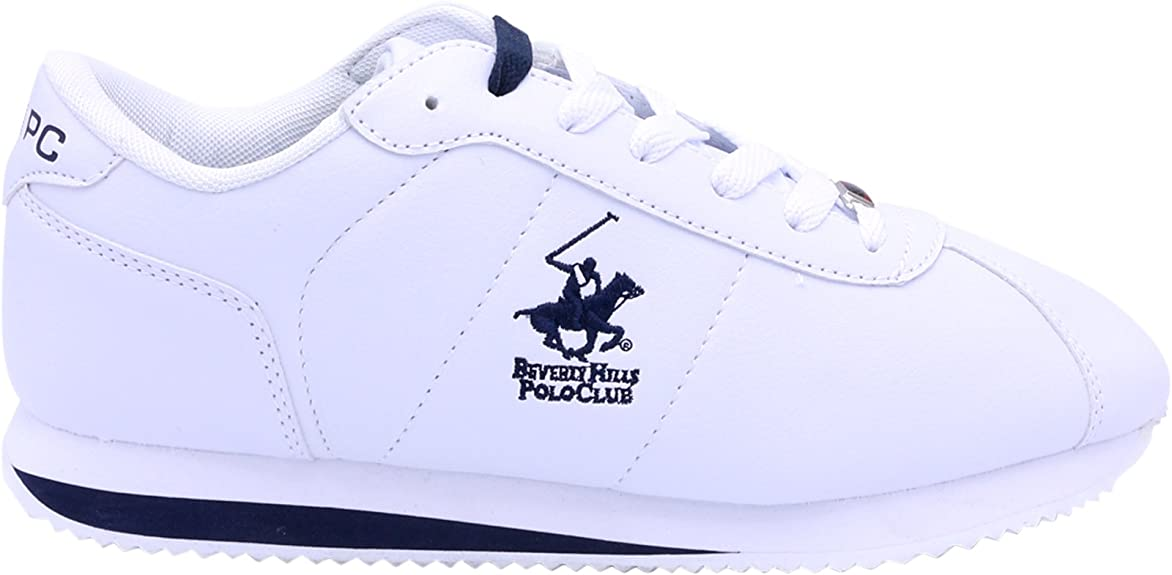 Beverly Hills Polo Club Freedom 2 Tenis para Hombre, Blanco/Azul ...