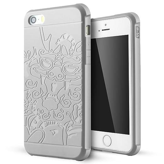 37 opinioni per iPhone 5 Cover,iPhone 5s Cover,iPhone Se Cover,Lizimandu Creative 3D Schema
