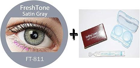 8a912f68f2 Lentes de contacto sin corrección, de color gris satinado (3 tonos), 12
