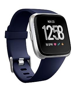 BarRan reg; Fitbit Versa Bracelet, accessoires de remplacement Bracelet sport réglable léger en silicone Sangles pour Men Women Multicolor Options