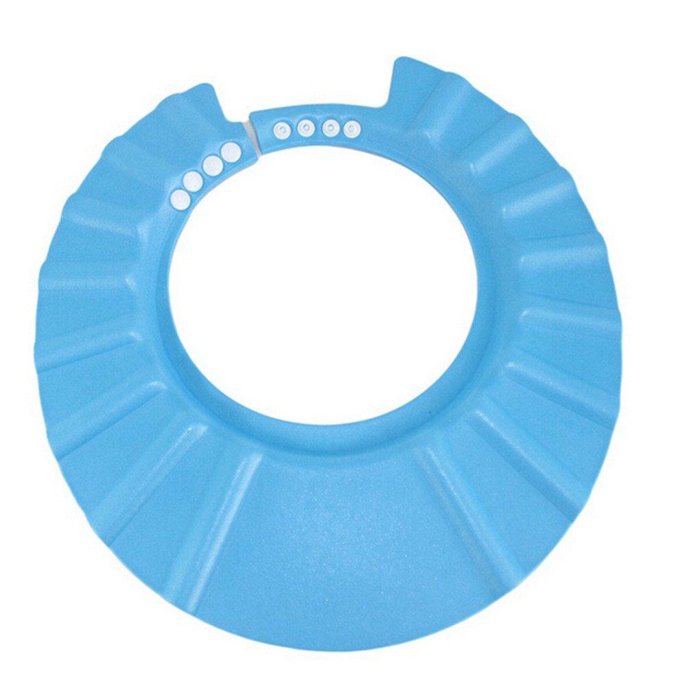 pink Lalang Baby Kids Children Shampoo Bath Hat Shower Cartoon Adjustable Cap Wash Hair Shield Hat