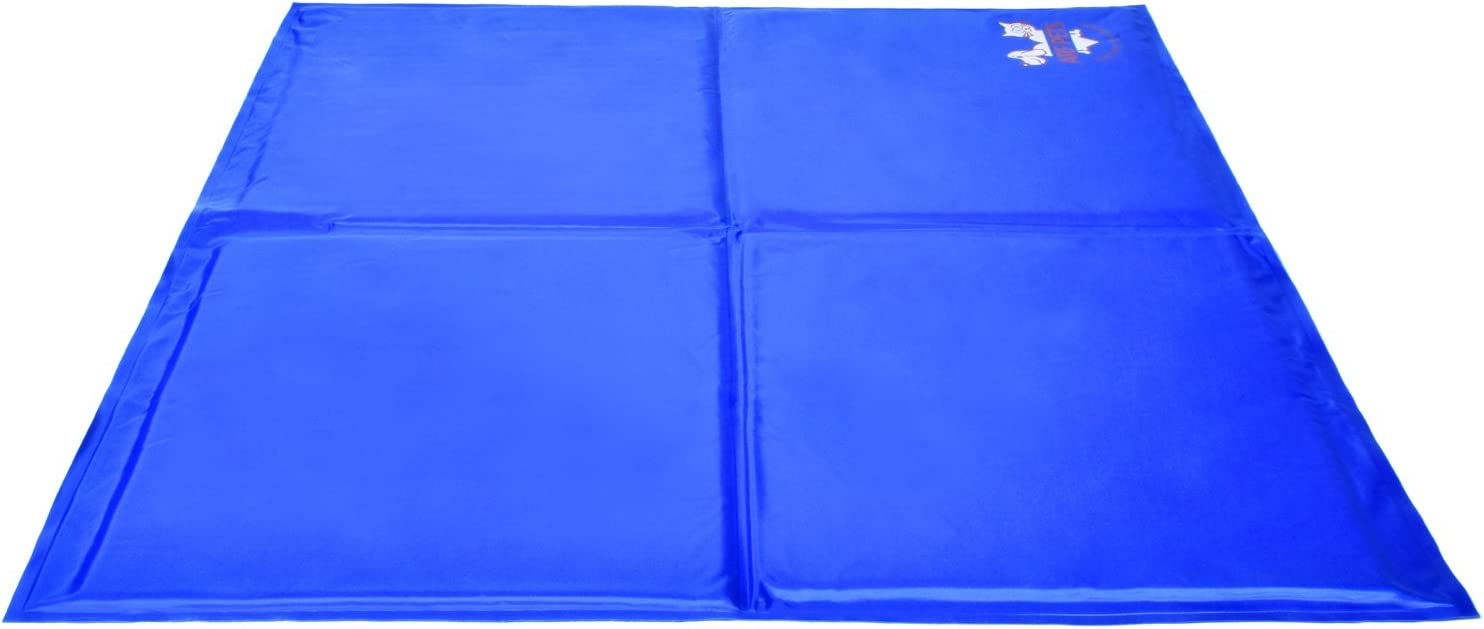 Arf Pets Pet Dog Self Cooling Mat Pad for Kennels, Crates and Beds