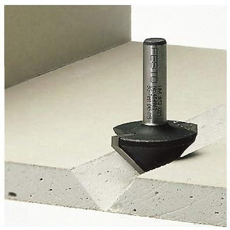 Festool 491001 - Fresa para placas de cartón enyesado HW, vástago 8 mm HW S8