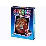 Sequin Art Lion Picture