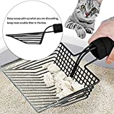 BasicForm Fast Sifting Cat Litter Scoop