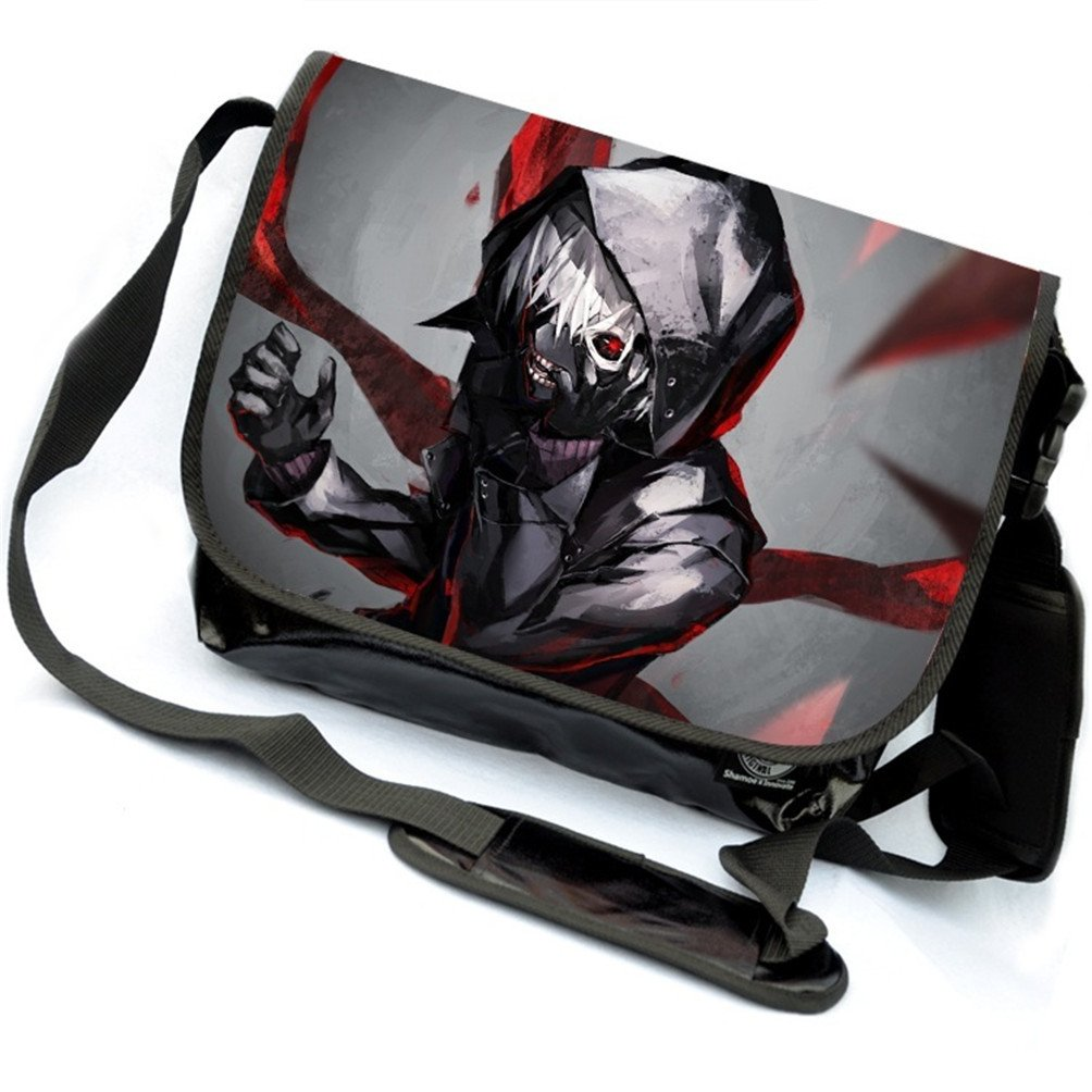 Siawasey Tokyo Ghoul Anime Kaneki Ken Cartoon Messenger Bag Shoulder Bag