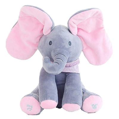 En L'éléphant Peluche Animés 85De Yuailiur Bébé Flappy Réduction tsrdChQ