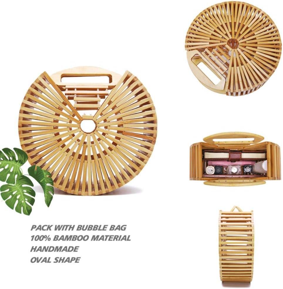 APOO 2020 Summer Beach Bamboo Handmade Bohemia Wood Fashion Handbag Set 202032 A