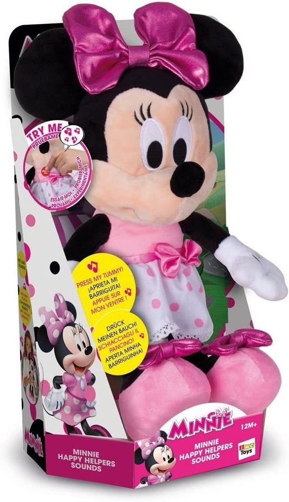 Minnie Mouse- Minnie Happy Helpers Funny Sounds, Multicolor (Propio 182431)