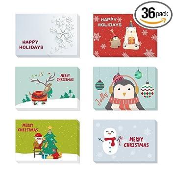 Amazon.com: Tarjetas de agradecimiento (36 unidades ...