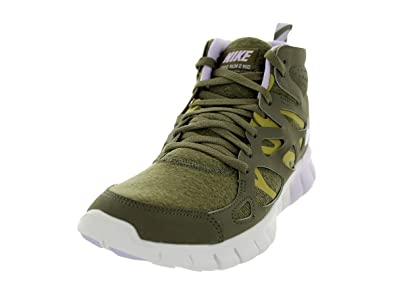 d402363514bc Nike Free Run 2 Sneaker Boot Olive Womens Trainers Size 4 UK  Amazon ...